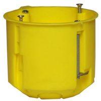 Puszka podtynkowa 60 do karton-gipsu głęboka 0220-0n żółta elektro-plast marki elektro-plast nasielsk