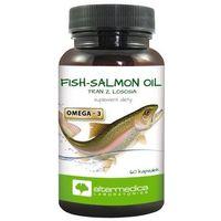 Fish Salmon Oil (Tran z Łososia) (Alter Medica) 60 kaps.