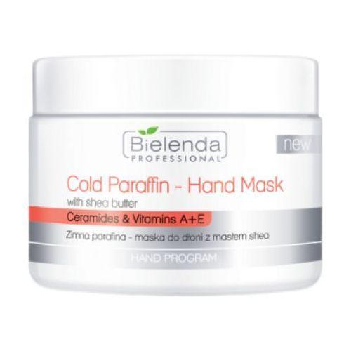 Bielenda Professional COLD PARAFFIN HAND MASK WITH SHEA BUTTER Zimna parafina - maska do dłoni z masłem Shea - Promocja