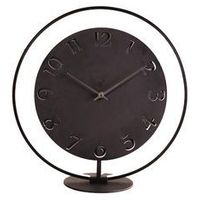 Zegar stojący, lampa