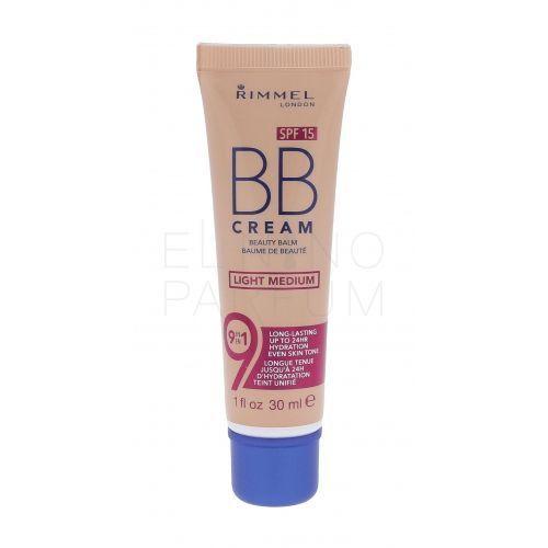 Rimmel london bb cream 9in1 spf15 krem bb 30 ml dla kobiet light medium - Ekstra oferta