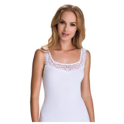 Diana koszulka bawełniana damska Eldar Romantica Biała - Biały (5901490152888)