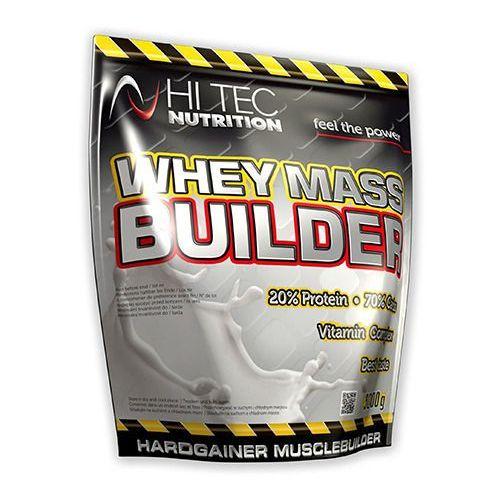 Hi-tec whey mass builder - 3000g - vanilla