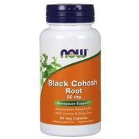 Kapsułki Black Cohosh Root (Pluskwica groniasta) 80mg 90 kaps.