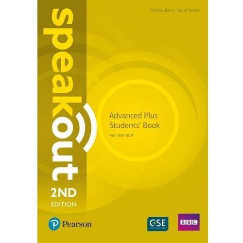 Speakout Advanced Plus Student's Book with DVD-ROM, oprawa miękka
