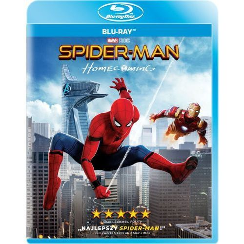 Imperial cinepix Spider-man: homecoming (blu-ray) - jon watts. darmowa dostawa do kiosku ruchu od 24,99zł