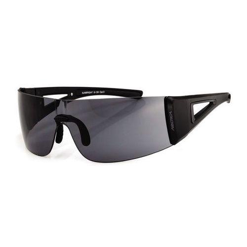 Okulary przeciwsłoneczne Arctica S-139, kolor czarny
