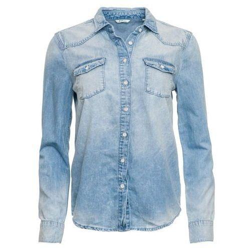 Mustang koszula damska 38 niebieska, kolor niebieski