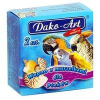 Dako-art  wapno z muszlami dla ptaków 2szt.