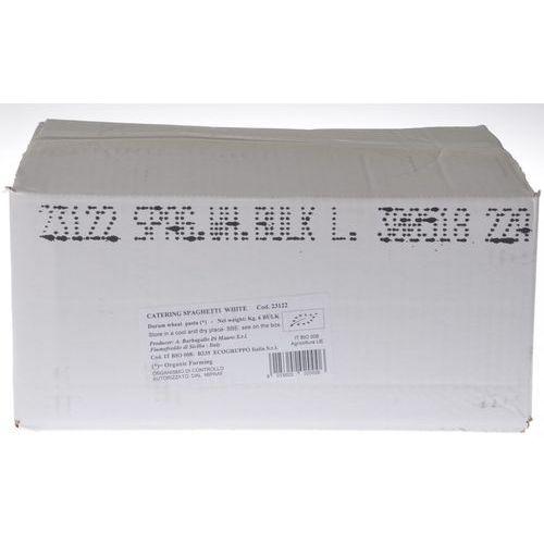 MAKARON (SEMOLINOWY) SPAGHETTI BIO 6 kg - HORECA (8015602020006)