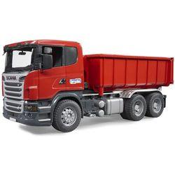 3522 ciężarówka scania z wysuwanym kontenerem marki Bruder