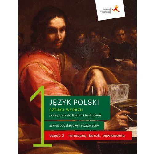 J. Polski LO 1 Sztuka wyrazu cz.2 podr. ZPR (2019)