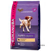 puppy & junior all breed lamb & rice 2x12kg marki Eukanuba