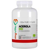 Proszek Acerola BIO naturalna witamina C proszek 250g MyVita