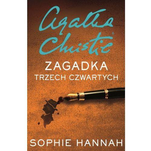 Zagadka trzech czwartych- bezpłatny odbiór zamówień w Krakowie (płatność gotówką lub kartą)., Sophie Hannah