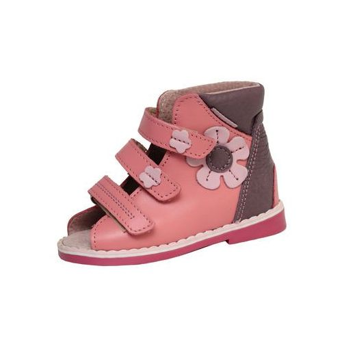 68f23075 Obuwie profilaktyczno/ortopedyczne - wzór 209 kolor jasny róż/wrzos marki  Mazurek