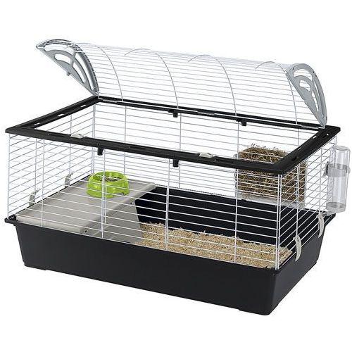 casita 100 klatka dla świnki, królika z wyposażeniem marki Ferplast