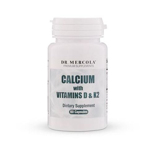 Kenay Dr Mercola Wapń z witaminą D3 i K2 60 kaps - suplement diety