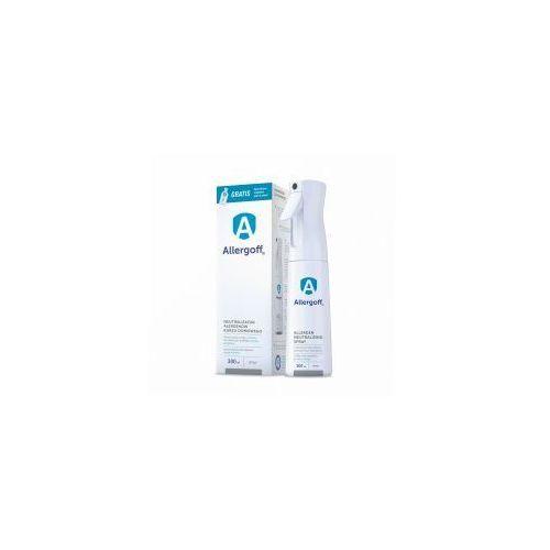 ALLERGOFF Spray 300 ml + Gratis: 20ml Płyn do tkanin - Neutralizator alergenów kurzu domowego
