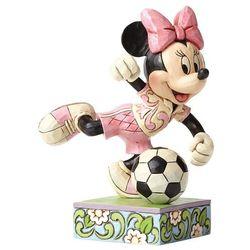 Jim shore Myszka mini piłkarska z piłką goal football minnie mouse figurine 4050397 figurka ozdoba świąteczna