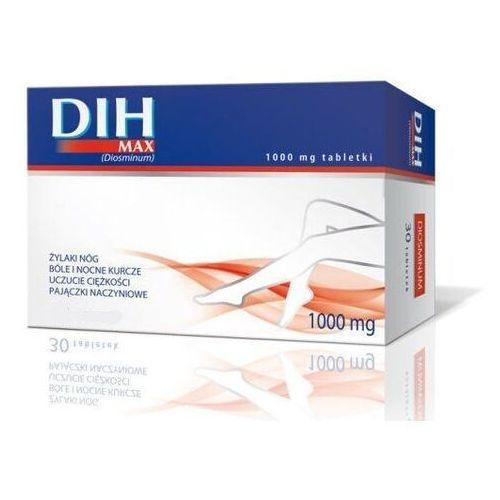 Dih max 1000mg x 60 tabletek - Sprawdź już teraz