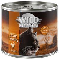 Wild freedom adult, 6 x 200 g - green lands - jagnięcina i kurczak (4260358516479)