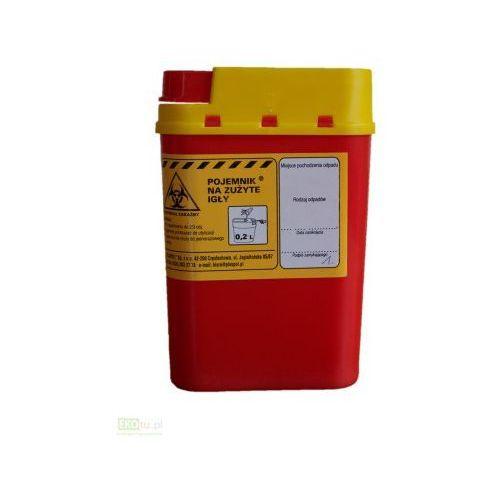 Pojemnik na odpady medyczne 0,2l Epak