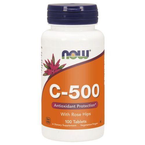 Now Foods Witamina C 500 mg z Dziką Różą 100 tabletek - 100 tabletek (0733739006707)