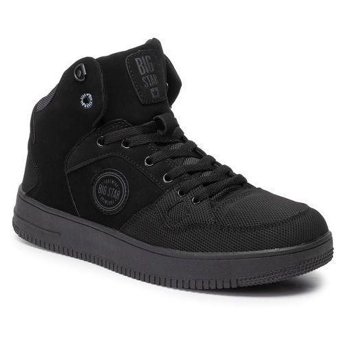 Sneakersy BIG STAR - EE174433 Black, w 5 rozmiarach