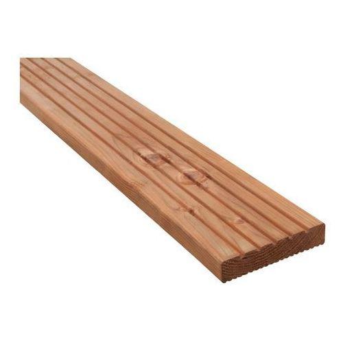 Deska tarasowa drewniana Blooma 24 x 120 x 2400 mm świerk naturalny
