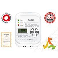 Eura-tech Sygnalizator, czujnik czadu bateryjny, wyświetlacz lcd, termometr cd60a4 a41a460 eura tech