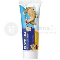 ELGYDIUM Junior ICE AGE pasta do zębów dla dzieci o smaku Tutti Frutti - 50 ml