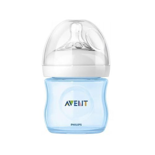 Avent butelka 125 ml natural pp niebieska