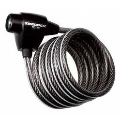 Trelock sk 110 - zapięcie spiralne z mocowaniem