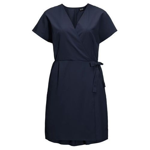 Jack wolfskin Sukienka victoria dress midnight blue - s