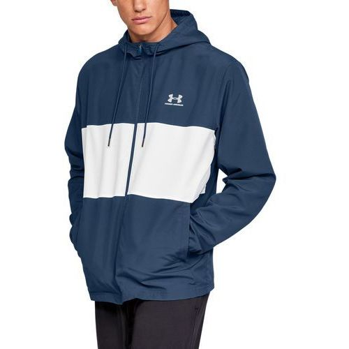 Under armour kurtka sportsyle wind jacket granatowa - granatowy