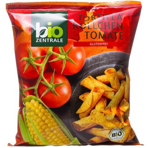 Chipsy Tortilla Rurka Pomidorowe BEZGLUTENOWE 125g - Bio Zentrale EKO