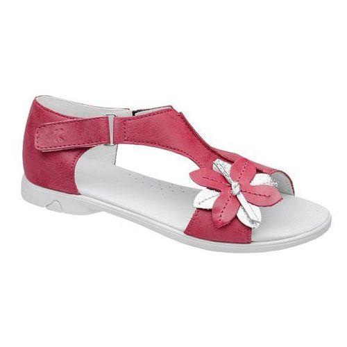 Sandałki dla dziewczynki KORNECKI 4527 Fuxia Różowe - Fuksja ||Różowy, kolor różowy