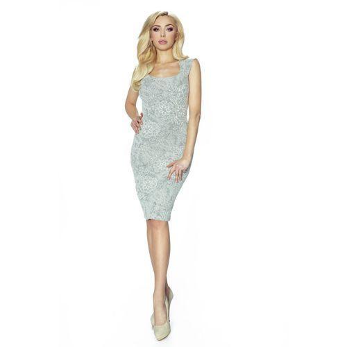 Klasyczna sukienka do kolan z kieszonkami, w 5 rozmiarach