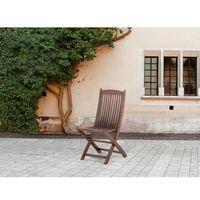 Krzesło ogrodowe - ogród - meble ogrodowe - taras - drewno - MAUI (7081453768177)