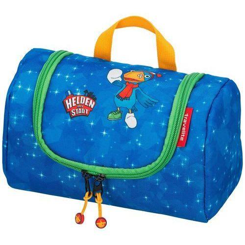 692d78b8bf550 bohaterowie miasta kosmetyczka podróżna dla dziecka z haczykiem   niebieska  - navy marki Travelite - Zdjęcie
