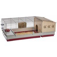 Ferplast Klatka dla królików Krolik 140 Plus, 142x60x50 cm, 57072570 (8010690142883)