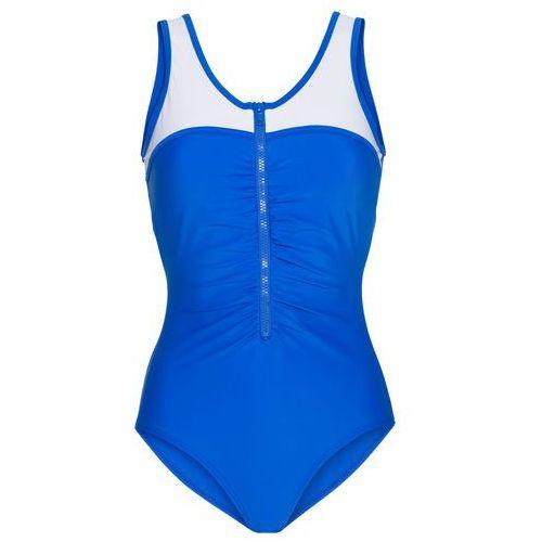 Kostium kąpielowy bonprix błękit królewski, kolor niebieski