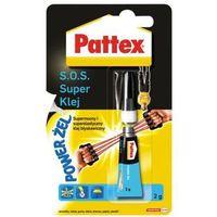 Pattex s.o.s. super klej power żel 2g