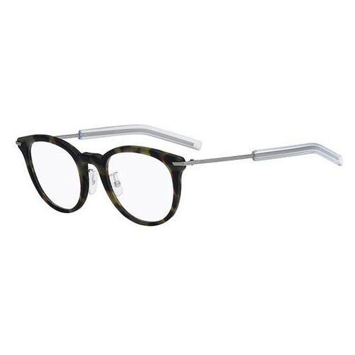 Dior Okulary korekcyjne black tie 201f asian fit vdf