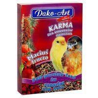 maciuś fructo - pełnowartościowy pokarm z owocami dla kanarków 500g marki Dako-art