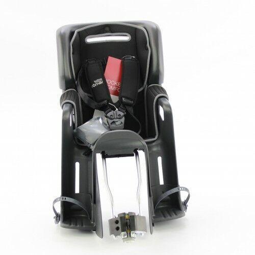 Fotelik rowerowy ROMER JOCKEY3 COMFORT BRITAX- kolor szaro czarny 2020 (4000984147377)