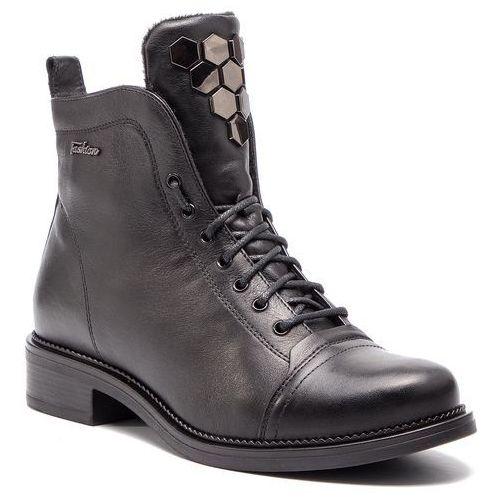 Botki - tulia-13 czarny marki Lasocki