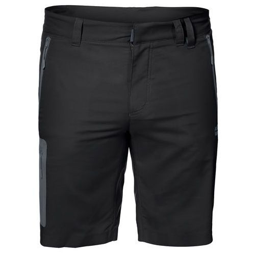 Spodenki active track shorts men black - 50, Jack wolfskin