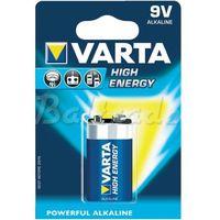 Bateria alkaliczna high energy 6lr61 9v marki Varta